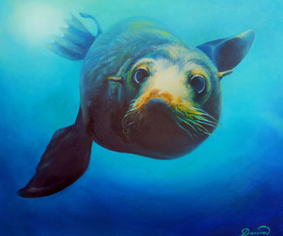 Marine Life Paintings